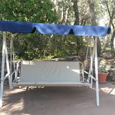 Garden Winds Replacement Swing Canopy by Patio Furniture Seat Patio Swing Cushions Outdoor Repair Cover