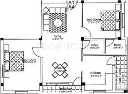 Uma Floor L 764 Sq Ft 2 Bhk Floor Plan Image Uma Builders Abhi Palace