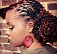 hairstyles for locs for women unique hair color and loc hairstyle by black women natural