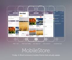 woocommerce themes store wptouch mobilestore a wptouch theme for woocommerce wptouch