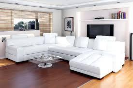 canape d angle haut de gamme canape d angle cuir blanc design canapac dangle en cuir noir et