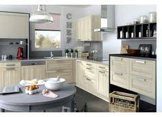 modele cuisine lapeyre cuisine fjord noir avec ses portes en chêne le modèle fjord