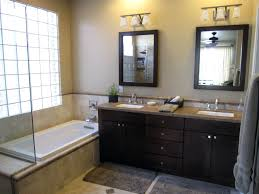 Custom Bathroom Vanities Ideas by Bathroom Design Cozy Bathtub With Dark Bathroom Vanity Ideas For