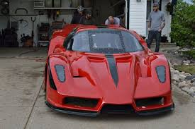 enzo replica garage built jet powered enzo is a furious spewing