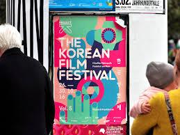 K He In Pink Project K U2013 The Korean Film Festival 2016 Festival Design