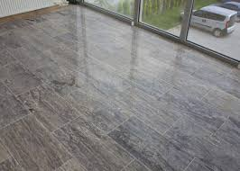 Travertine Effect Laminate Flooring Free Samples Kesir Travertine Tile Polished Silver Premium Vein