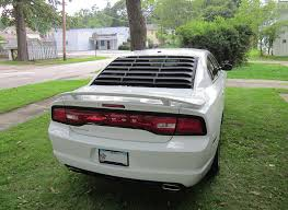 dodge charger louvers rear window louvers dodge charger forum
