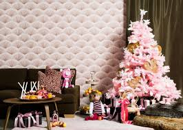small pink christmas tree pink christmas it s magical for blue dish