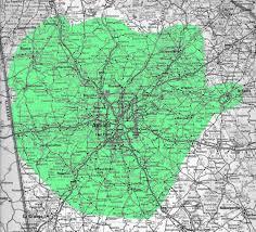 Atlanta Georgia Zip Code Map by Enter Prefix