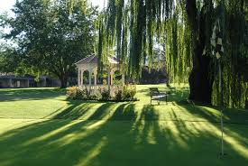 willow gazebo lovely weeping willow tree above the golf course gazebo weddings