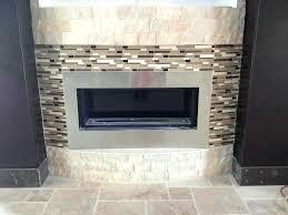 great glass tile fireplace surround suzannawinter com