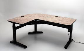L Shape Desks Ergo L Height Adjustable L Shaped Desk Martin Ziegler