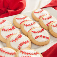 baseball sugar cookies cookies u0026 brownies