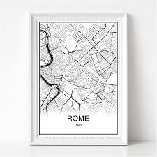 Rome Italy Map Online Buy Wholesale Map Rome From China Map Rome Wholesalers
