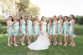 mint and coral shabby chic wedding