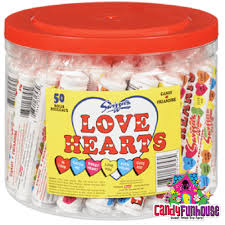 hearts candy hearts fashioned nostalgic candy sweet memories