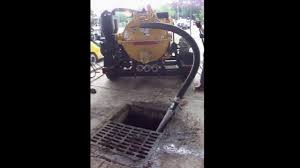 vermeer vacuum excavator catch basin clean out video youtube