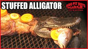 alligator recipe by the bbq pit boys youtube