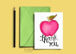 thank you cards for teachers thank you card for and school driver with free printables