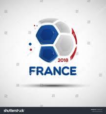French Flag Banner Football Championship Banner Flag France Vector Stock Vector