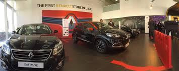 renault uae arabian automobiles company opens uae u0027s first renault store
