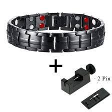 energy bracelet magnetic images Stylish punk bio energy magnetic therapy bracelet g4 series for jpg