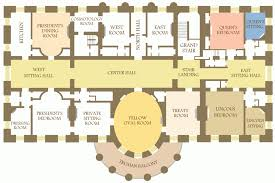 Basement House Floor Plans White House Floor Plan First Second Third East Wing Modern