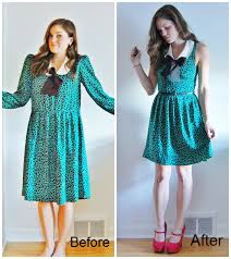 creative diy ideas to format new dress by old trends for girls