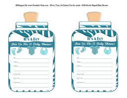 baby shower invitations for boy boy printable bottle baby shower invitations babies milk bottle