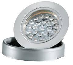 2 5w recess led puck lights