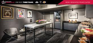 private suites staples center