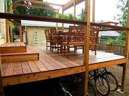 landscape ideal landscaping wooden decks