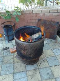 Washing Machine Firepit Repurpose A Washing Machine Drum Into A Pit Decornotes