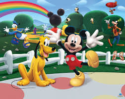 Carta Da Parati Bambini Walt Disney by Walltastic La Casa Di Topolino Carta Da Parati Murale Carta
