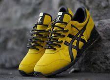 genuine asics onitsuka tiger mexico 66 yellow black bruce lee