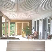 tuftex ultravinyl corrugated square wave panel 130824 do it best