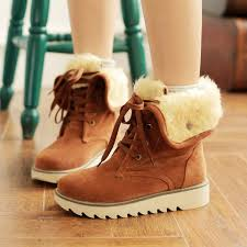 s lace up ankle boots nz rabbit fur casual wointer boots lace up high heels