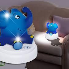 lumiere chambre enfant éléphant lumière de nuit ø120mm fonction tactile led enfant
