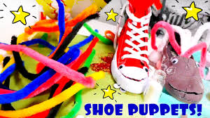 handmade toys for kids shoe puppets toys videos for kids