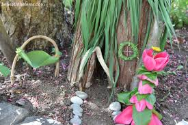 fairy house beneath the ferns