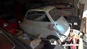 Barn Finds Cars Barn Find Private Collection Of Rare Cars For Sale Isetta Mustang