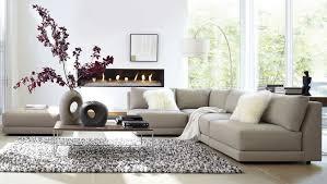 furniture graceful modern l shape grey living room sofa ideas