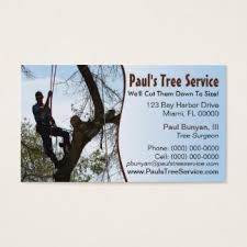 tree service business cards templates zazzle