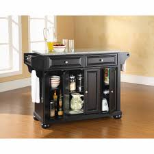 granite top kitchen island crosley furniture alexandria solid granite top kitchen island
