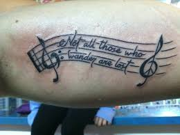 music tattoos and designs page 11