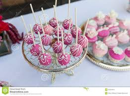 cake pop prices cake pops and cupcakes stock image image of flowers 35233615