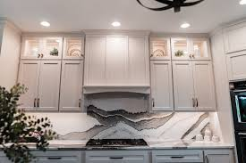 what backsplash looks with cabinets kitchen backsplash ideas k d countertops