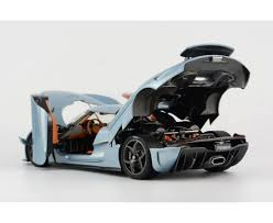 koenigsegg regera regera in horizon blue limited 299 pcs opened version by frontiart