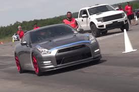 tanner fox gtr 2 000 horspower nissan gt r crashes after 218 mph speed run