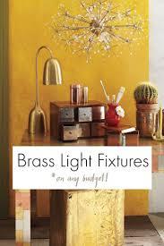 top 25 best brass light fixtures ideas on pinterest paint light
